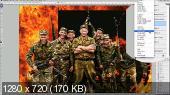 Обработка фотографии в стиле военной тематики (2017)