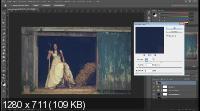 Винтажный эффект в фотошопе (2017) HDRip