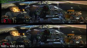 Стражи Галактики. Часть 2 3D / Guardians of the Galaxy Vol. 2 3D (IMAX версия Лицензия by Ash61) Вертикальная анаморфная стереопара