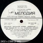 Фестваль джазовой музыки Тбилиси-86 (1987) 2LP