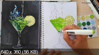 Школа Sketch park: Творческий Абсент (2017) CAMRip