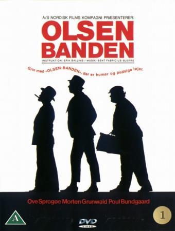 Банда Ольсена / Olsen banden (1968) HDRip