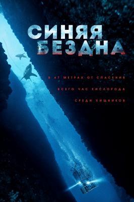 Синяя бездна (Страх глубины) / 47 Meters Down (In the Deep) (2017) Blu-Ray Remux 1080p