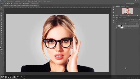 Как наложить текстуру на объект в фотошопе (2017) HDRip