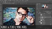 Создаем эффект граффити в фотошоп (2017)