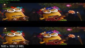 Гадкий я 3 3D / Despicable Me 3 3D (Лицензия by Ash61) Вертикальная анаморфная стереопара