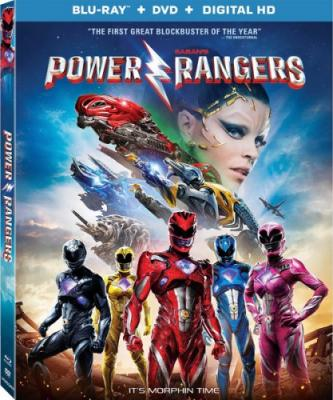 Могучие рейнджеры / Power Rangers (2017) WEBRip 1080p| Open Matte