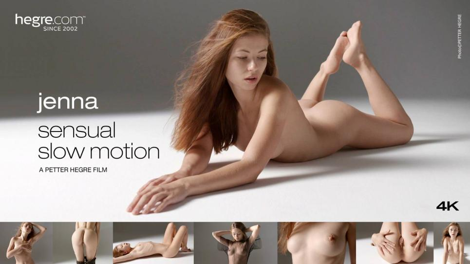 [Hegre.com] 2017-09-26 Jenna - Sensual Slow Motion [2017 г., Erotic, Posing, 1080p]