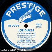 The Soulful Drums Of Joe Dukes With The Brother Jack McDuff Quartet (1964) (Reissue)