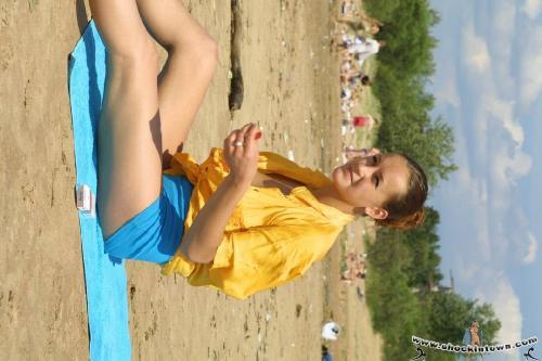 Nude in public, Russian public