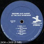 The Brother Jack McDuff Quartet - Brother Jack At The Jazz Workshop Live! (1963)
