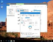 Windows 10 Pro 1709 [16299.19] Compact by flibustier (x64) (2017) Rus