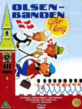 Банда Ольсена вступает в войну / Olsen-banden gar i krig / The Olsen Gang goes to war (1978) HDRip