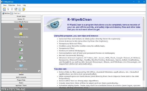 R-Wipe & Clean 11.10 Build 2189 Corporate