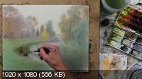 Акварельный осенний пейзаж. Мастер-класс (2018)