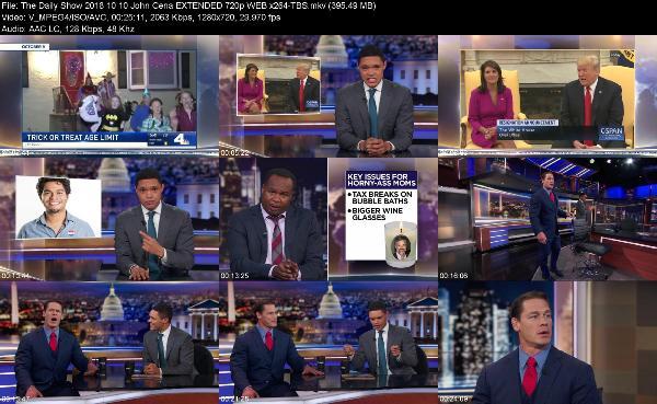 The Daily Show 2018 10 10 John Cena EXTENDED 720p WEB x264 TBS