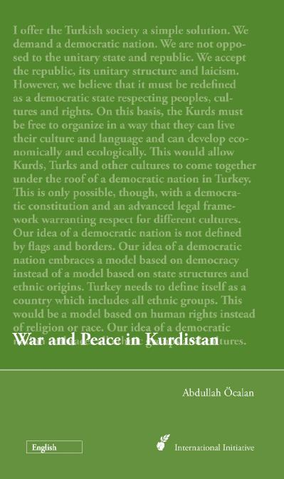 War and Peace in Kurdistan