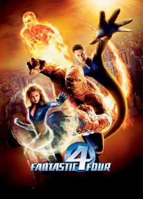 Фантастическая четверка / Fantastic Four (2005) HDTV 1080i | Open Matte