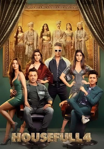 Housefull 4 (2019) Hindi 720p PreDVDRip x264 AAC-CineVood Exclusive